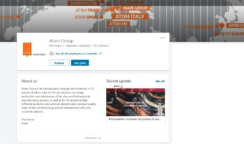 WE ARE ALSO ON LINKEDIN: FOLLOW US!